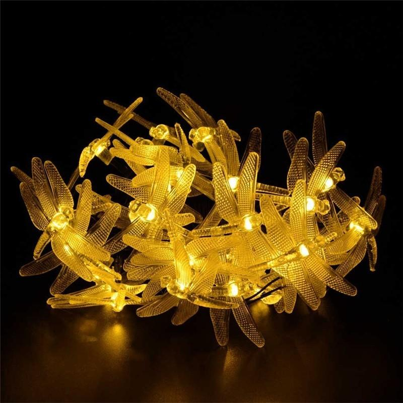 lederTEK Brand Solar Christmas Lights 19.7ft 6m 30 LED (7)