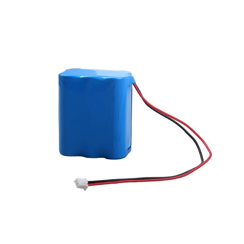 Grande batterie d'alimentation icr18650 18650 2S3P 7.4v batterie li-ion batterie 7.4v 6600mAh pour la lumière LED