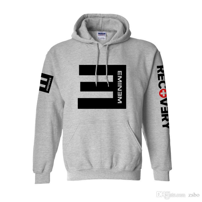 Streetwear Moletom Sudaderas Hombres Alan Walker Sudaderas sueltas Eminem RAP Música Hip Hop Hombres y mujeres Lil peep Pullover WGWY29