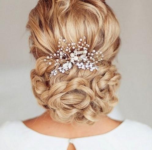 Mariage Cheveux accessoires Mariée Bandeau Demoiselle d/'honneur Tiare Cheveux Peigne Épingle à Cheveux