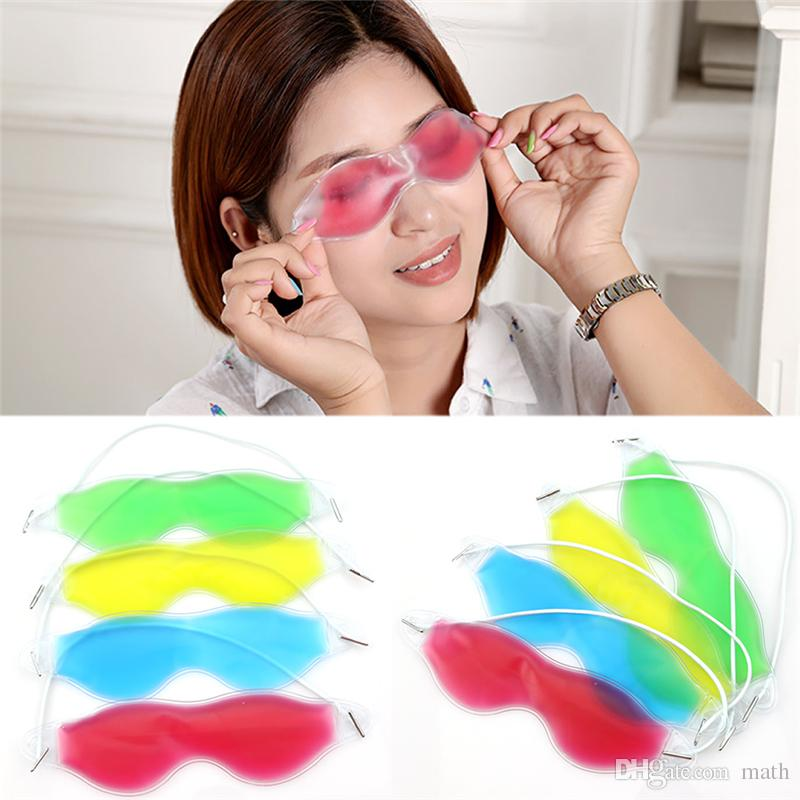 Ice Eye Mask Shading Summer Ice Goggles alleviare l'affaticamento degli occhi Rimuovere le occhiaie Gel Eye Ice Pack Sleeping Masks CCA8670 5000pcs