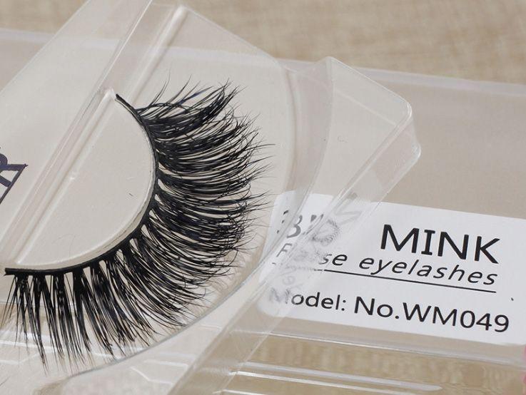 3D Mink Eyelashes Strips Thick Cross Natural False Eyelash 3D Eyelash Extensions Eyelash Perm Kit Wimper Extensions Curl Mink eye