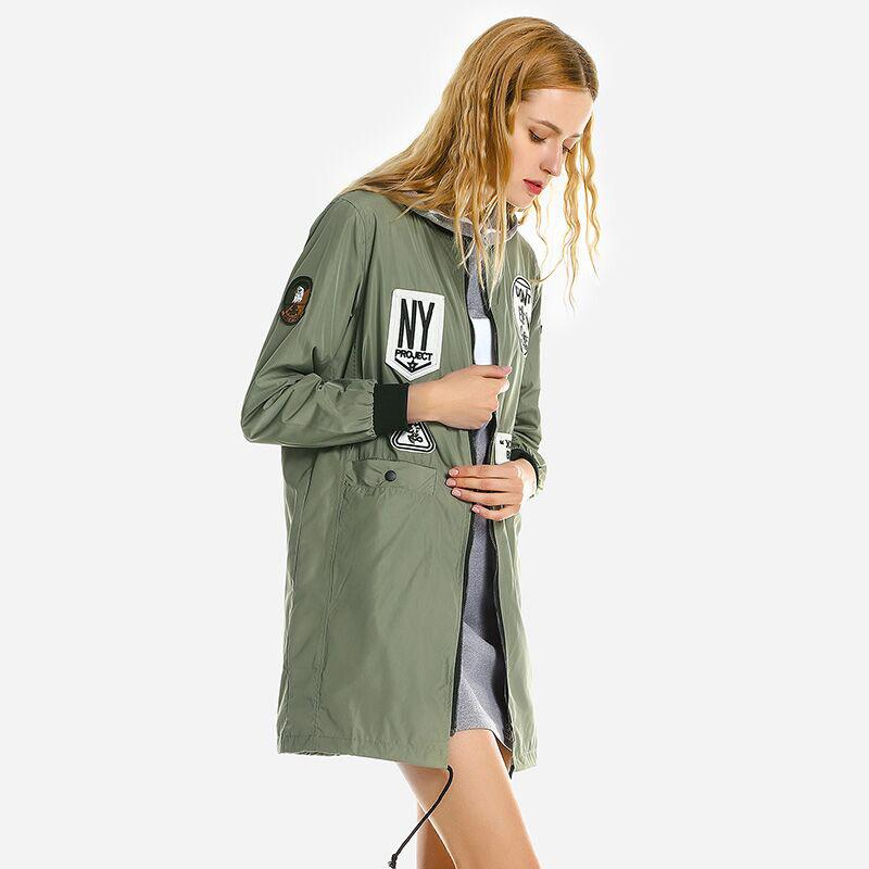 lungo Medium Autumn Ftlzz Trench Women lettera Acquista gPqRazxWW