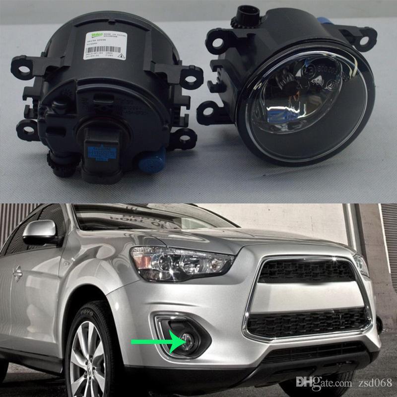لميتسوبيشي أوتلاندر سبورت 2013 حتي 15 سيارة الجبهة سيارة الوفير الضباب القيادة ضوء مصباح تغطية مع اللمبات LEFT RIGHT الجانبية