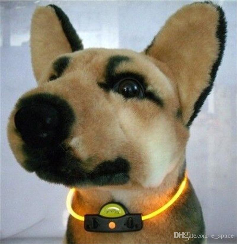 A28 LED Dogs Collar necklace Led Dog Collar Light Chain Luminous Light LED Teddy Dog Pet Cat Collar Night Safety Flashing