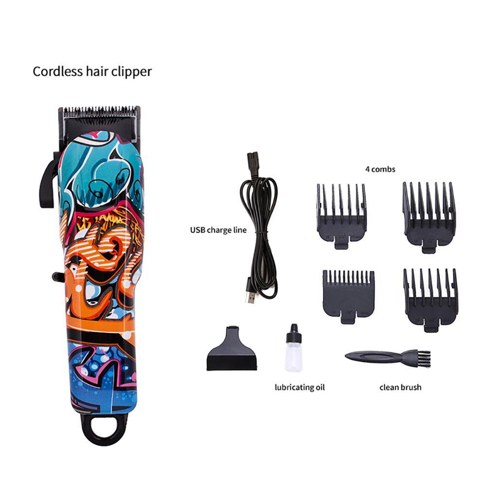 Новый Бренд Профессиональный Клиппер для волос Электрический Триммер Мощный Бритвенный Машина Резка Борода Электрический бритва Низкий Шум Для людей