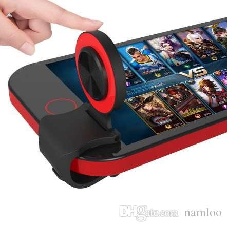 미니 울트라 얇은 터치 스크린 휴대 전화 조이스틱 전화 아케이드 게임 컨트롤러 터치 조이스틱 아이폰 안드로이드 전화에 대한