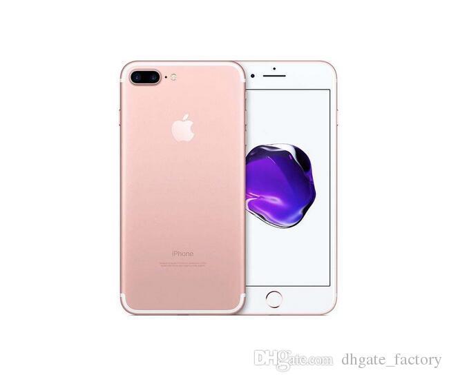 100% original 4.7 pulgadas 5.5 pulgadas Apple iPhone 7 Plus IOS 4G LTE 12MP desbloqueado reacondicionado teléfonos móviles teléfonos móviles paquete gratuito