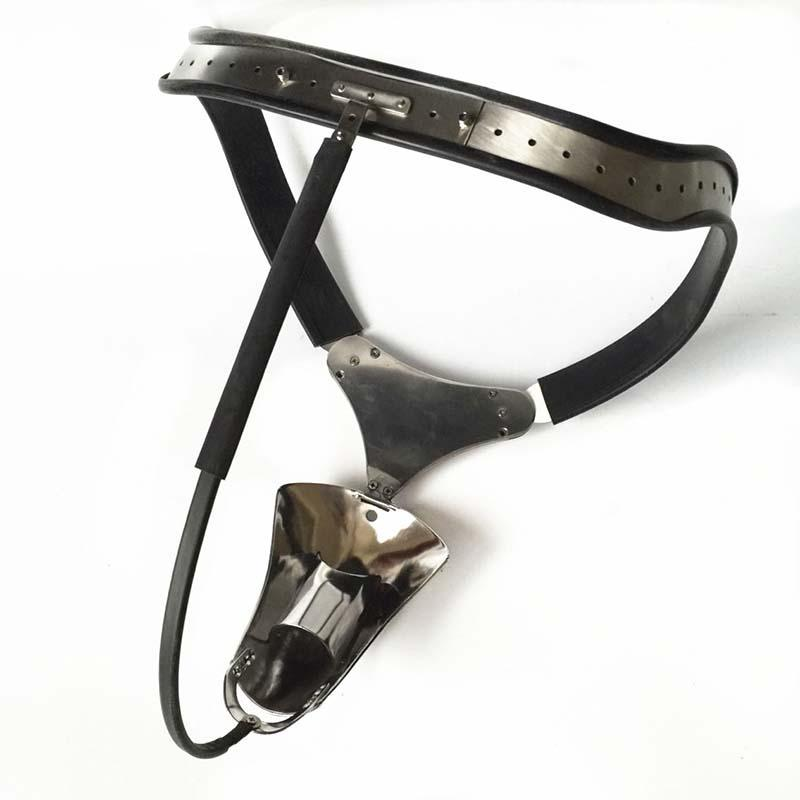 Male Chastity Belt Slave Cock Ring Bondage Fetish Lockable Penis Restraint Device Stainless Steel Chastity Cage Sex Toys For Men