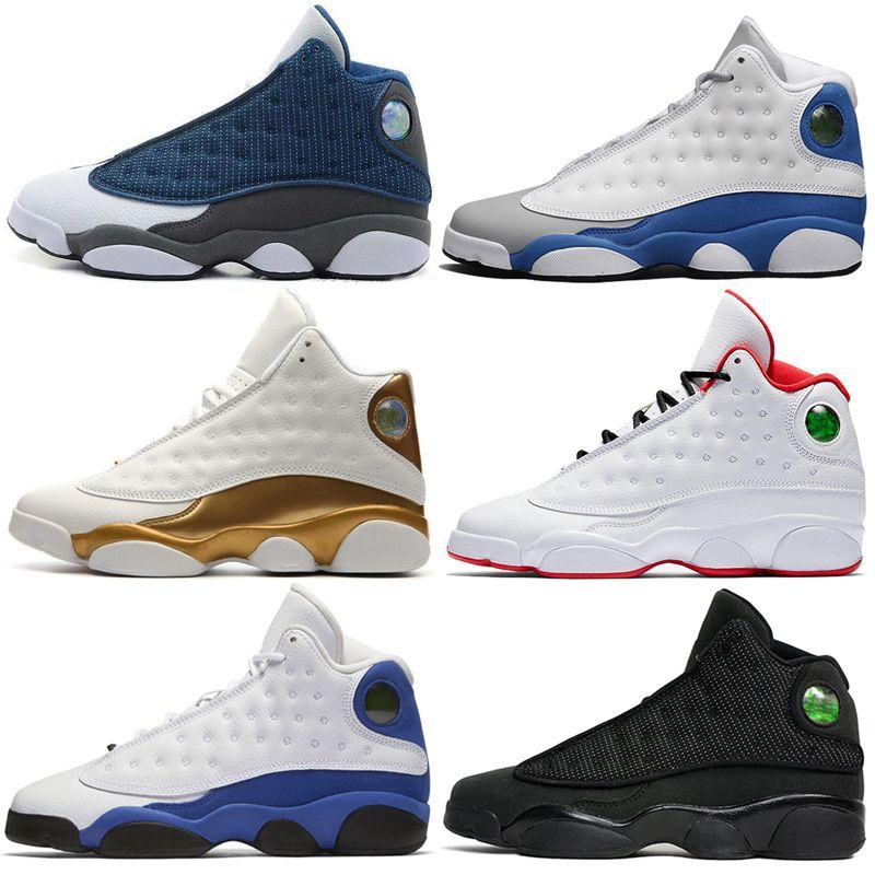2019 13 13s Mens Basketball обувь Phantom Чикаго GS Hyper Royal Black Cat кремень Бред Brown DMP Italy мужчины Sports кроссовки тренеры