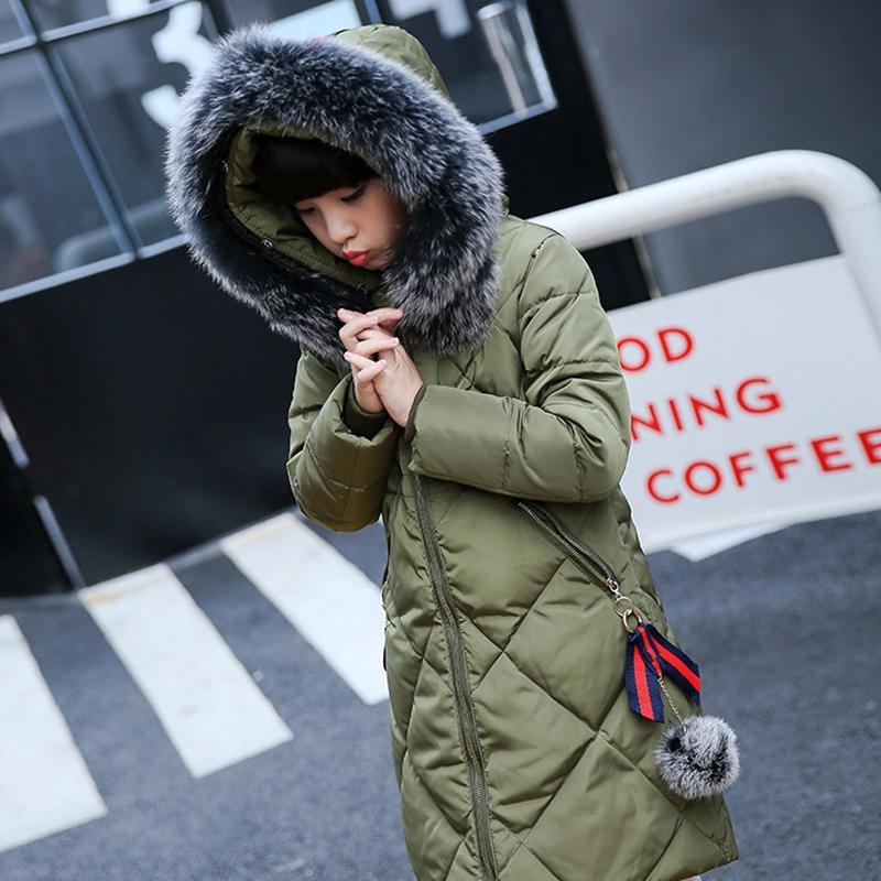 Kids Boys Fur Hooded Coat Camo Winter Warm padded cotton Down Jacket Size 4-12Y
