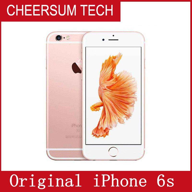 Refurbished Original Unlocked Iphone 6s NO TOUCH ID Mobile phone 4G LTE 4.7 inch 2GB RAM 16GB/64GB/128GB ROM iphone6s