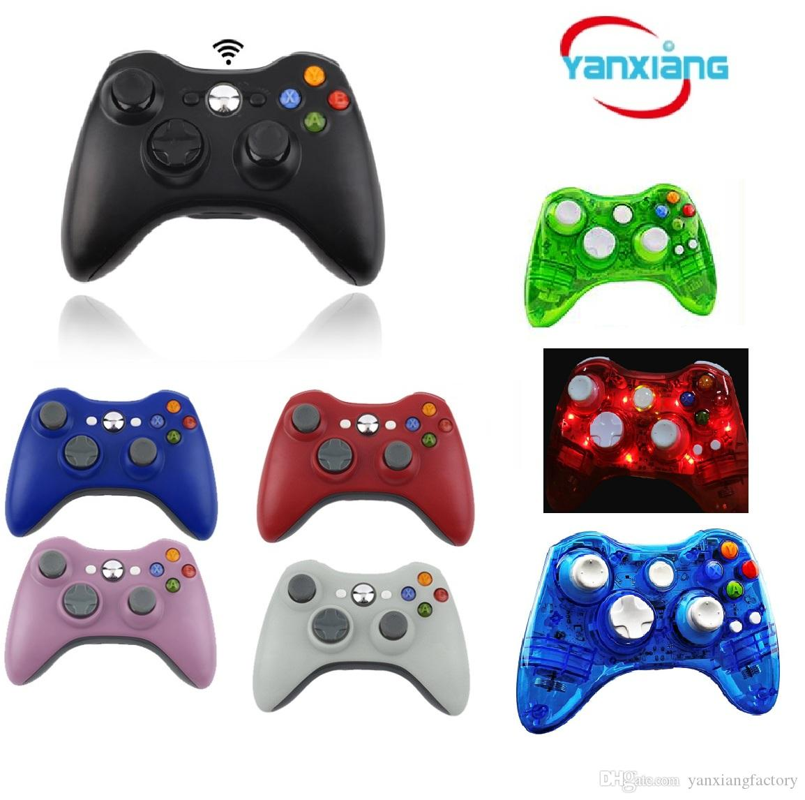 5pcs Game Controller For XBOX 2016 New Brand Wireless Gamepad Game Pad Joypad Controller for Microsoft Xbox 360 Quality YX-360-01