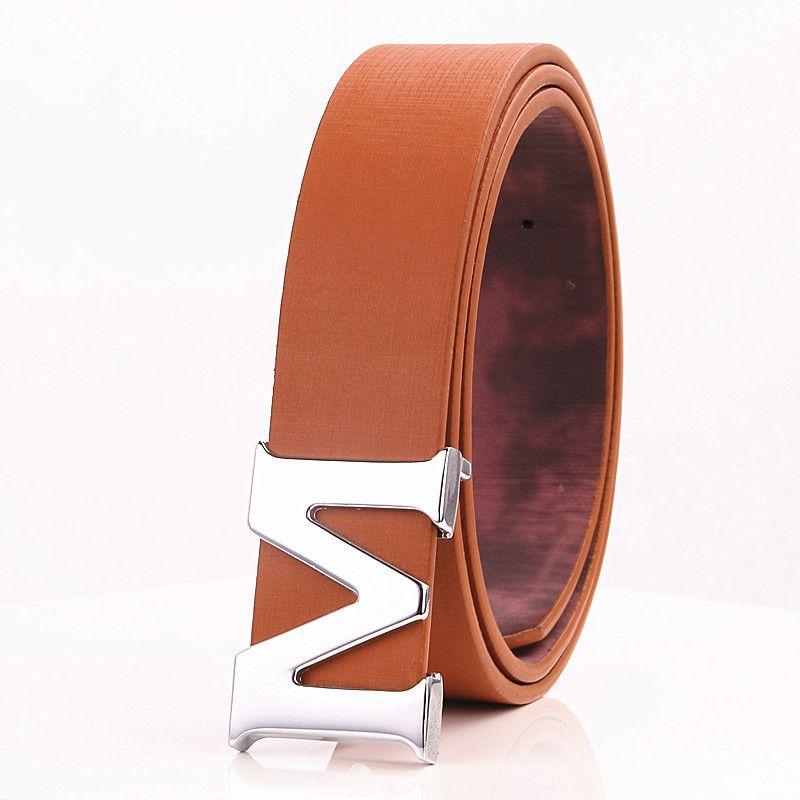 Nuovo 2019 Luxury Casual Uomo Cintura in pelle di marca per uomo Casual Cinture Fashion Designer Cinture Uomo Cintura in pelle da uomo di alta qualità