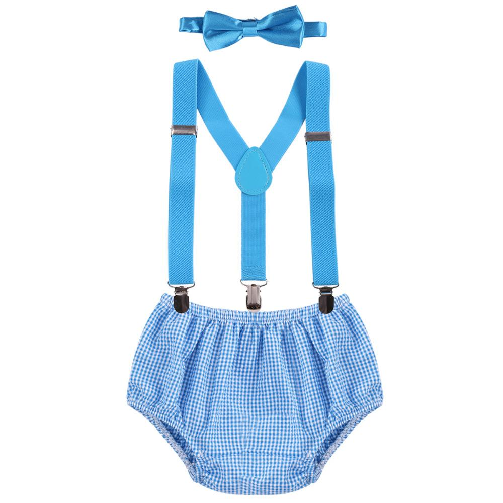 Baby Boys Diaper Cover Pants +Suspenders Y Back Braces + Bowtie 1st Birthday Cake Smash Outtfits Bloomer Suspenders Photo Props