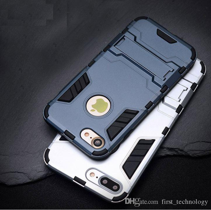 Cool Armor Case For iPhone 5s SE 6 7 8 X Plus Hybrid Shockproof Phone Cases For iPhone X 8 Plus Anti-knock Cover
