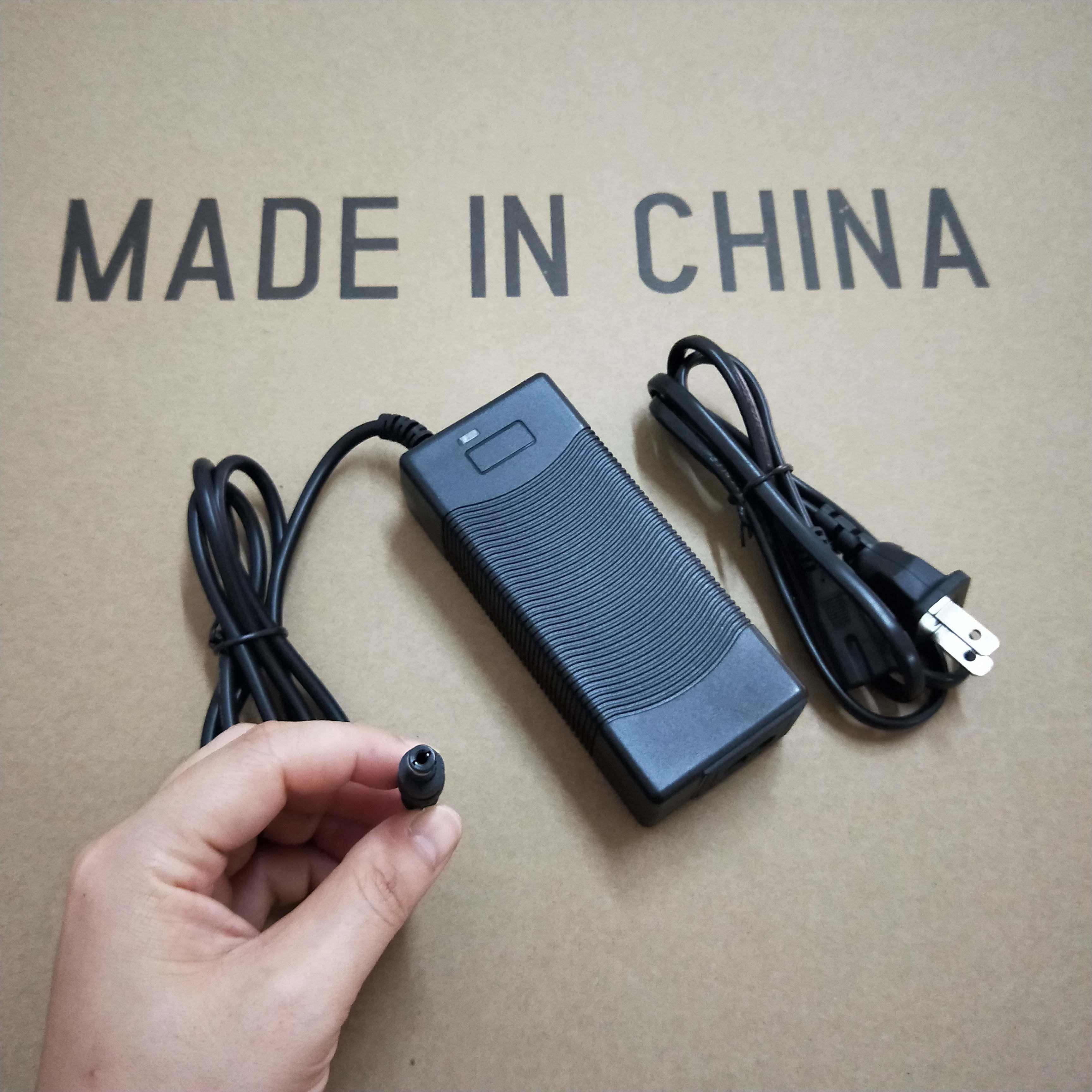 21V2A Smart Charger for 5S Lithium//Li-ion 18650 Battery 5.5*2.1 plug 110V US