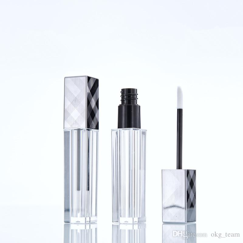 Tubes 8ML Vider Lipgloss Maquiagem Lèvres Yeux Cils Visage liquide Vernis à ongles Maquillage Bouteilles d'emballage avec grille Cap 20pcs
