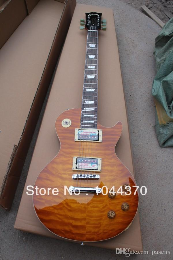 Wholesale - free shipping Custom Shop fire fingerboard wavy top electric guitar Factory sales free shipping