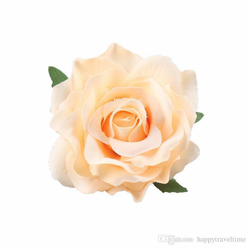 Haarclip Rose Brosche Blüte Haarspange Clip Haarschmuck Blume viele Farben