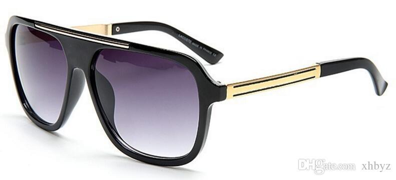 Estilo de verão itália marca medusa óculos de sol meio quadro mulheres homens br2501 designer uv proteção un óculos lente clara e revestimento lente sunwear