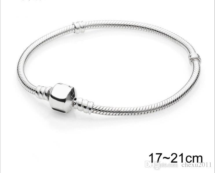 3MM high density Snake Chain Gift Bracelet