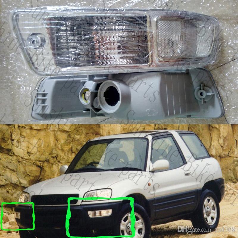 1x For 1998-1999 Toyota RAV4 Car Left Driver Side Headlight Light Housing COVER