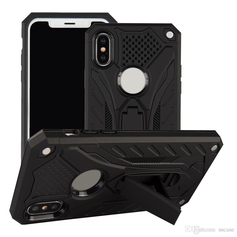 Per Oppo F9 A3S A5 F7 Neo 7 A33 R15 A83 A57 A39 A71 A77 A59 F3 F1 basamento della cassa dell'armatura scossa di protezione del telefono cellulare Custodia rigida Custodia per cellulare