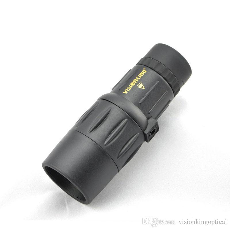 Visionking 8x42WD Portátil Monocular Telescópio À Prova D 'Água Para Viajar / Camping / Caça Lente Óptica Multi Revestimento Binóculos de Alta Qualidade