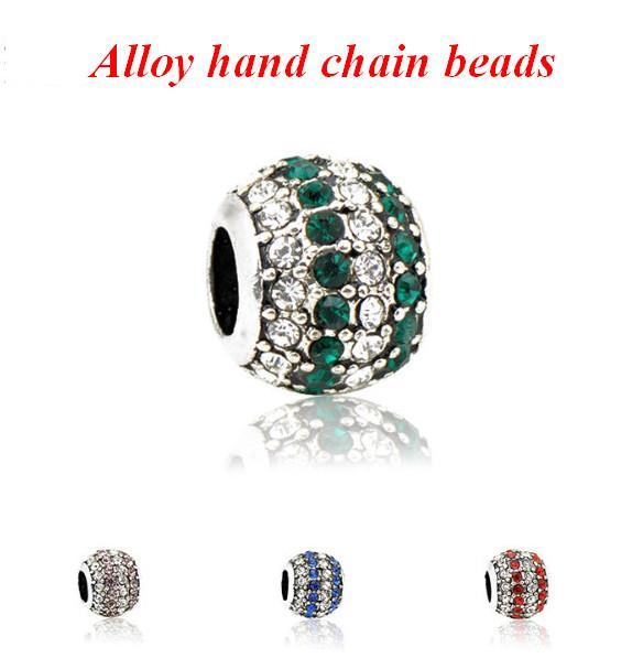 Камень подвески для подвески браслет-925 стерлингового серебра шарик ажурные подвески, с Днем Рождения подвески для браслет и ожерелье acc045
