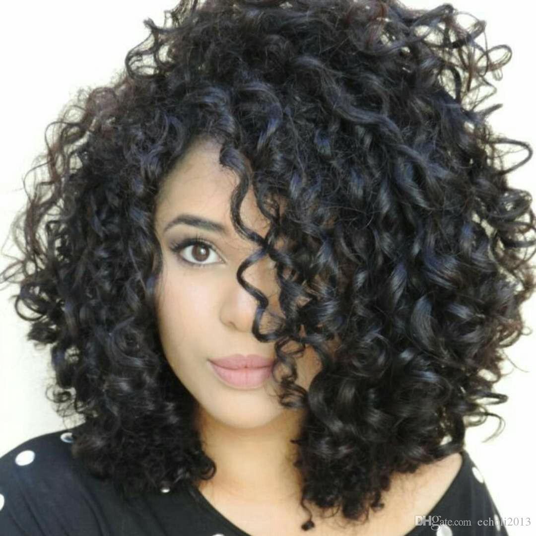 Siyah Kadınlar Için ucuz İnsan Saç Dantel Ön Peruk Brezilyalı bakire İnsan Saç Kısa Bob Peruk 150 yoğunluk Kıvırcık Tutkalsız Dantel Peruk 12 Inç
