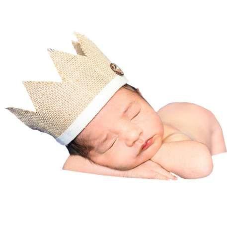 Km /_ Baby Krone Fotografie Stirnband Raffhalter Mütze Foto Sutdio Requisiten Neu