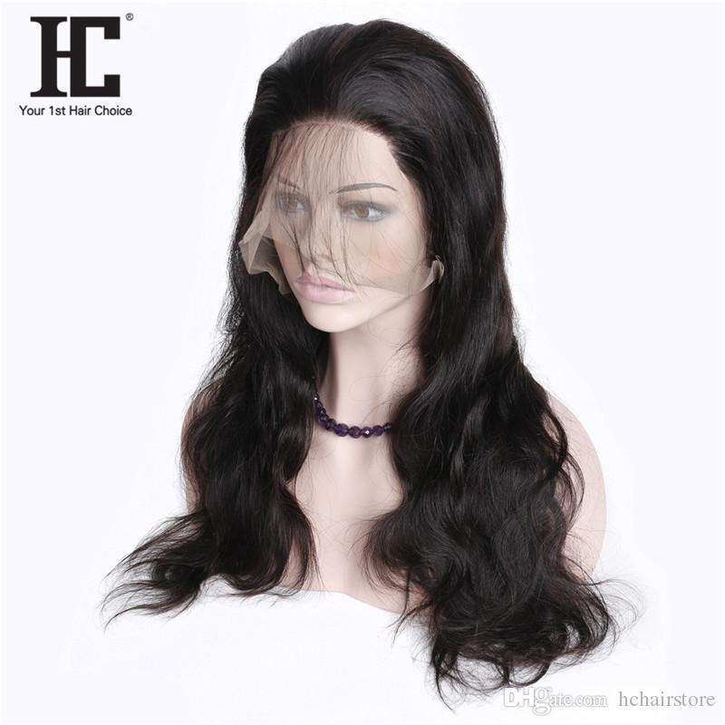 """Body Wave Lace Front Human Hair Wigs 10-24"""" Long/Short Bob Swiss Lace Frontal Wig 130% Density Peruvian Remy Hair Wig"""