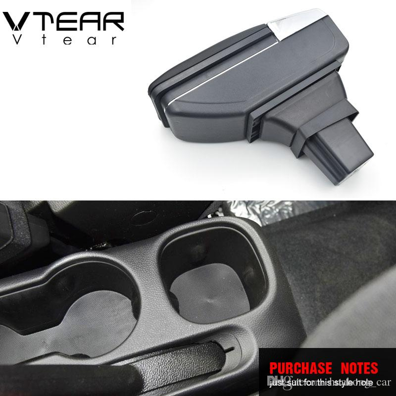 Center Console Water Cup Holder Panel Decor Cover Trim For Chevrolet Trax 14-17
