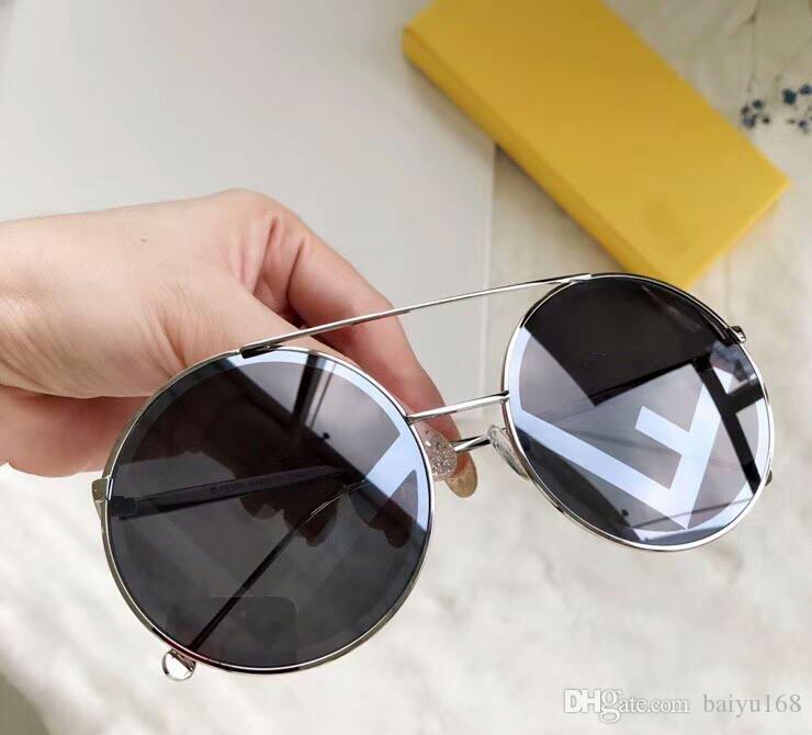Мода 0285 / S черные круглые солнцезащитные очки Sonnenbrille 0285 женские стекла оттенки новый с коробкой