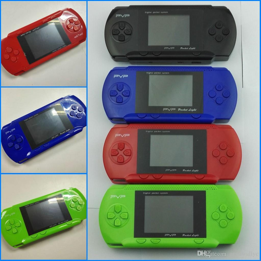 Game Player PVP Station Light 3000 (8 Bit) 2.7 Inch LCD Screen Video Handheld Game Player Console Mini Portable Game Box