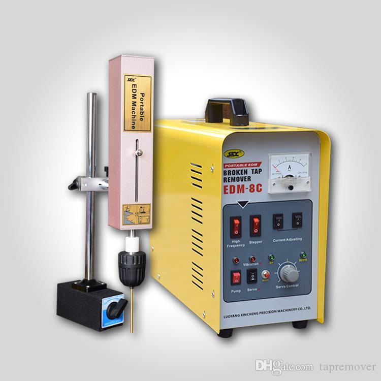 Supprimer Portable Edm Perceuse remove goujon brisé les robinets cassés défoncent machine d'électroérosion électrique