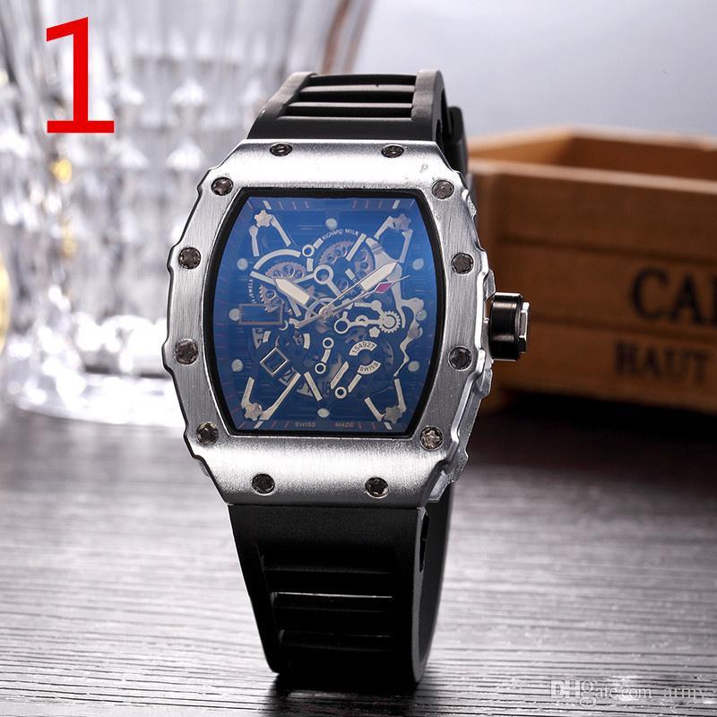 2019 Luxury Fashion Skeleton Watches men or women brand Skull sport quartz watch