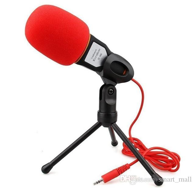 Microphone professionnel de studio de podcast de son de condensateur pour l'ordinateur portable de PC Skype MSN Microphone LLFA