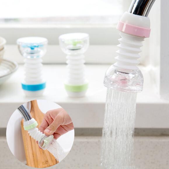 Экономия воды 360 градусов гибкий кран расширитель сопла фильтр спринклерный распылитель кухня фильтр воды сопло