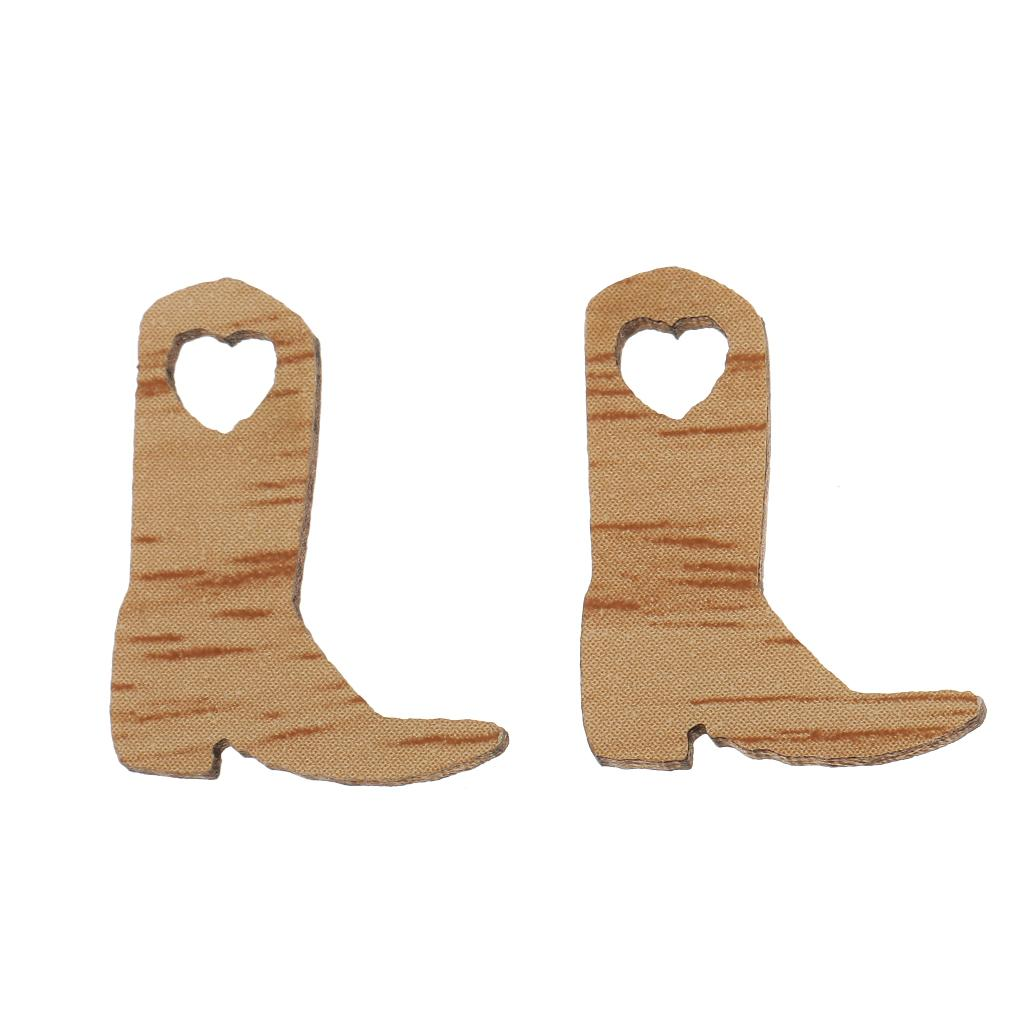 New Cowboy Boot Wooden Embellishments Crafts Embellishment For Cowboy Wedding Party Favor Cardmaking Diy Home Decor Party Room Decorations Party Shop Online From Totwo10 4 25 Dhgate Com