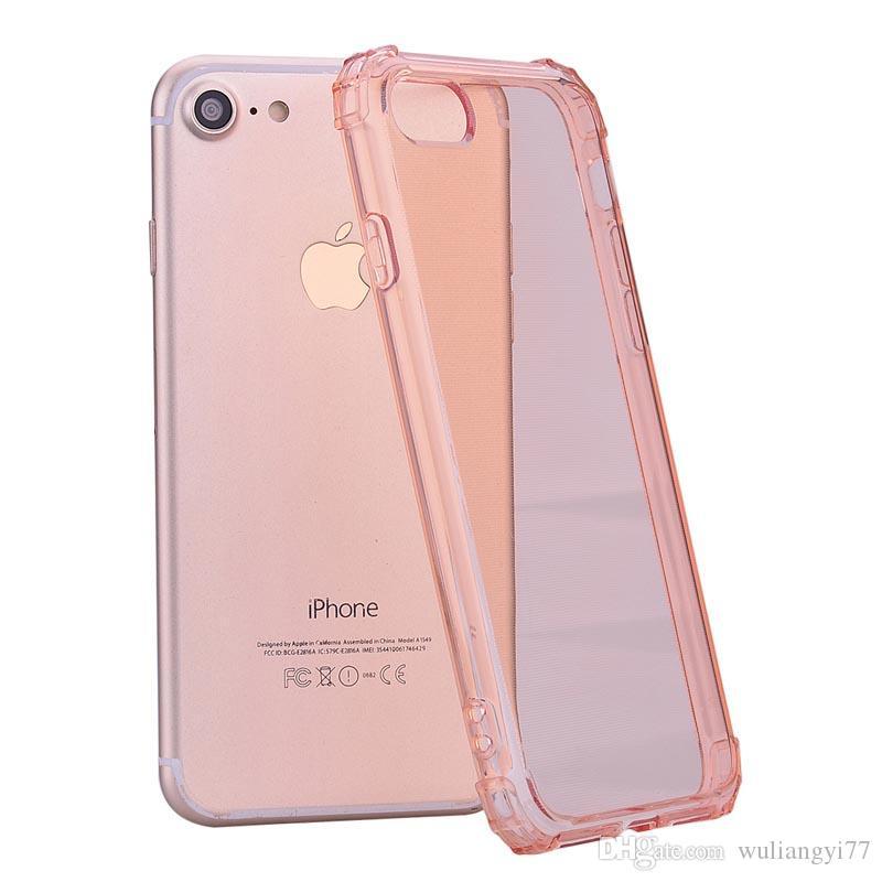 2 in 1 PC + TPU Custodia Custodia Custodia per iPhone X Coque trasparente ForIphone 10 Crystal Capa Fundas 8 Plus Cassa antiurto