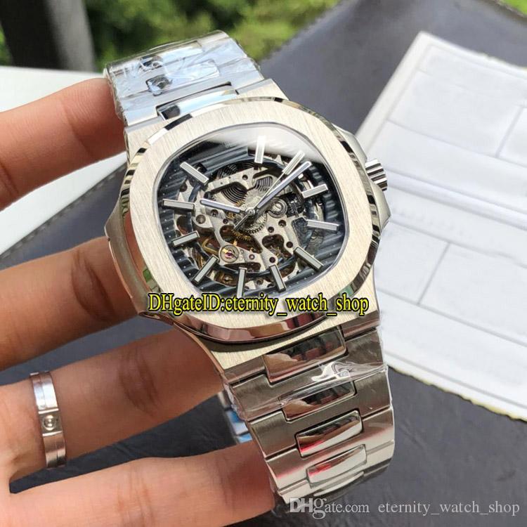 Eternity Relógios Esportivos de Alta Qualidade 5713/1 Mens Assista 4813 Mecânica Automática 5713 / 1G-010 316L Caso de Aço Inoxidável Band Sport Relógios 05