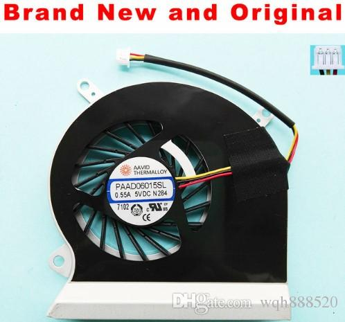 New Original CPU fan for MSI GE60 16GX 16GA 16GC MS-16GH MS-16GF MS-16GD laptop cpu cooling fan cooler PAAD06015SL N284