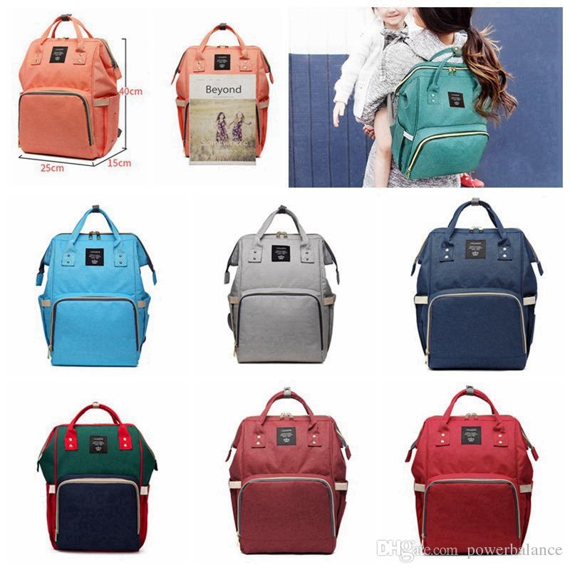 Waterproof Baby Diaper Nappy Mother Backpack Mommy Changing Bag Mummy Backpack