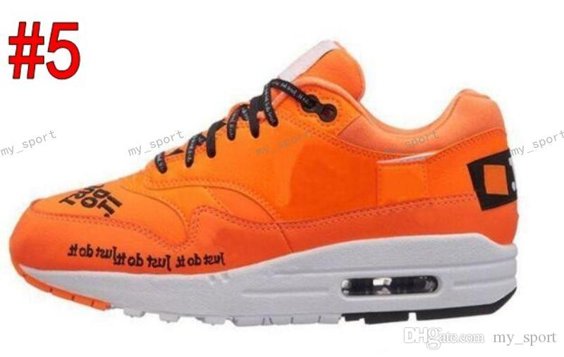 newest 8e262 55324 2018 Mens Womens 87 1 New Running Shoes Just Do It Jewel Master Atmos Bred  Vintage Designer Chaussures Oxford Air Sneakers Running Shoes Online  Lightweight ...