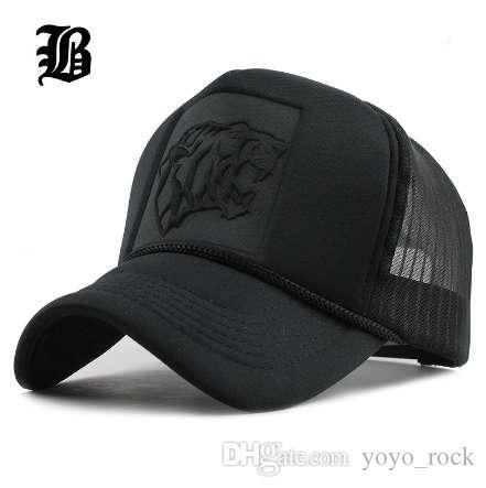 Hip Hop negro estampado de leopardo gorras de béisbol curvas de malla de verano snapback sombreros para mujeres hombres casquette camionero
