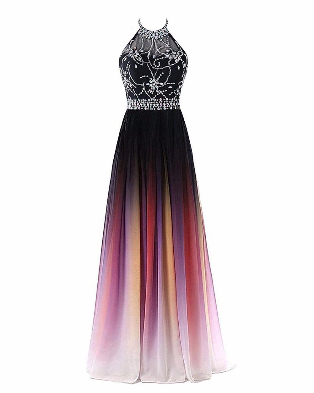 2019 Halter Sexy Pescoço A-line Gradiente Vestidos de Baile Frisado Sheer Neck Lace Up Pluning Voltar Projeto Mulheres Evening Dress cintura frisado Sash