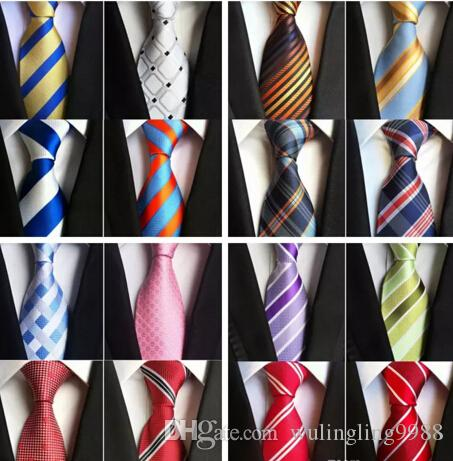 Fashion 8cm Silk Necktie Mens Dress Tie Wedding Business Dress Tie Knot Solid Dress Neckwear For Men Have Top Quality Work Blouses Neck Ties From Wulingling9988 2 08 Dhgate Com