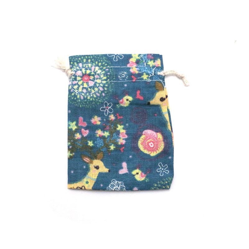Pieghevole coulisse Good arriva nuovo vari gioielli in cotone 10x14cm stampa borse regalo unisex 50pcs stampato imballaggi Ustov